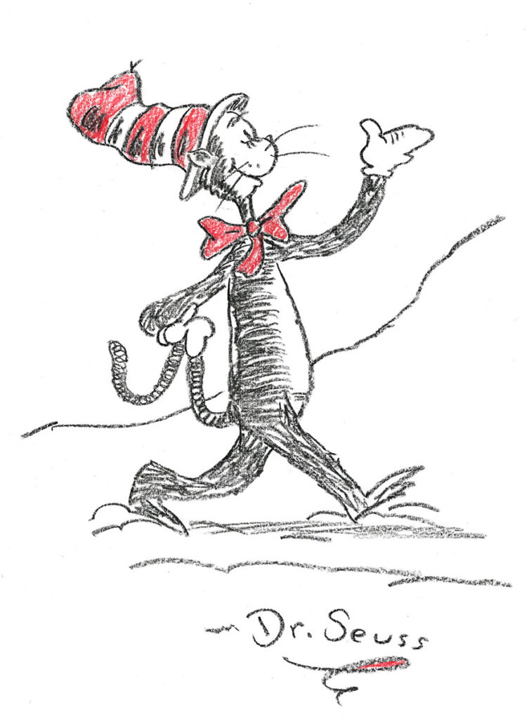 Dr.-Seuss,-Study-for-Cat-in-the-Hat